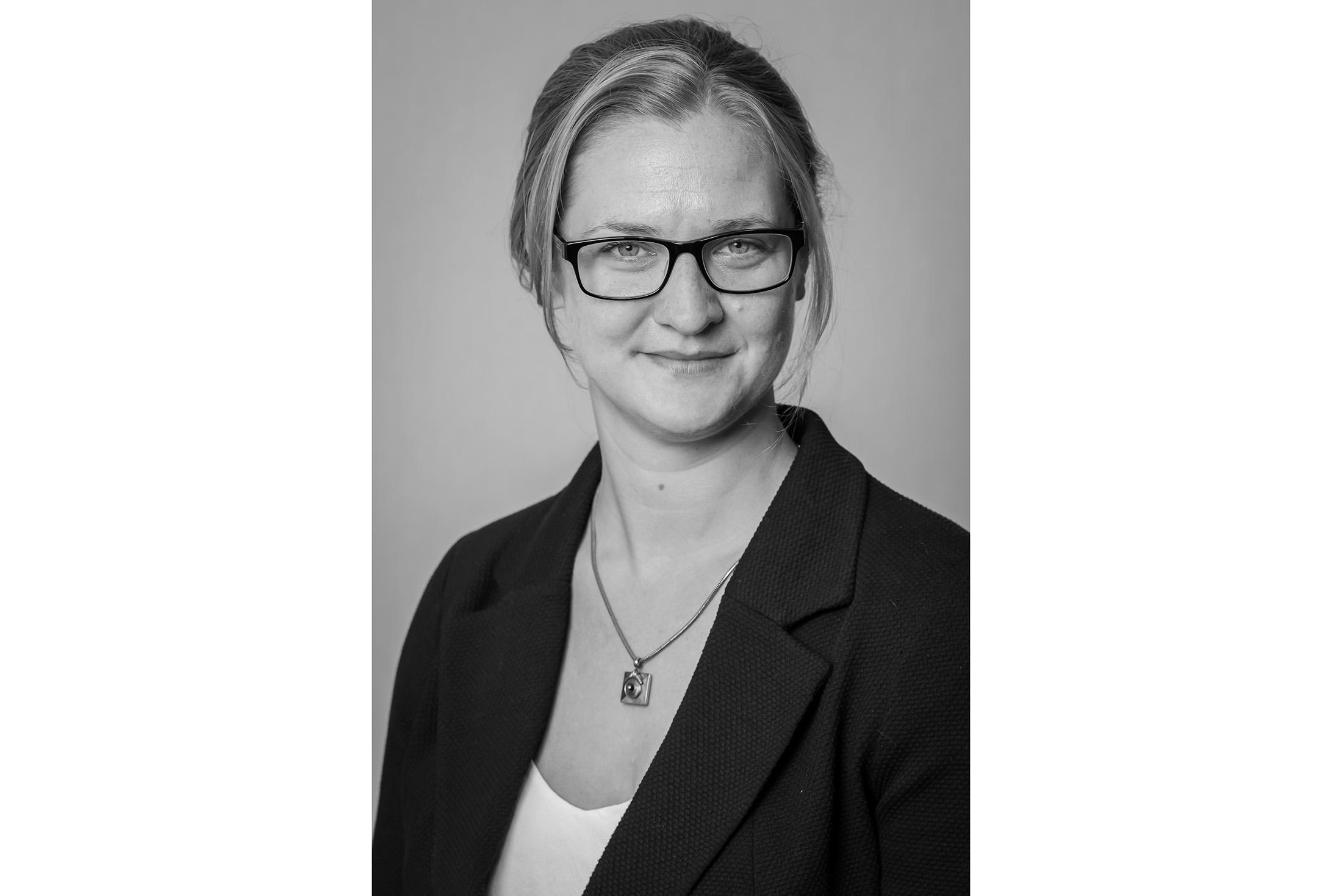 profile picture in black and white