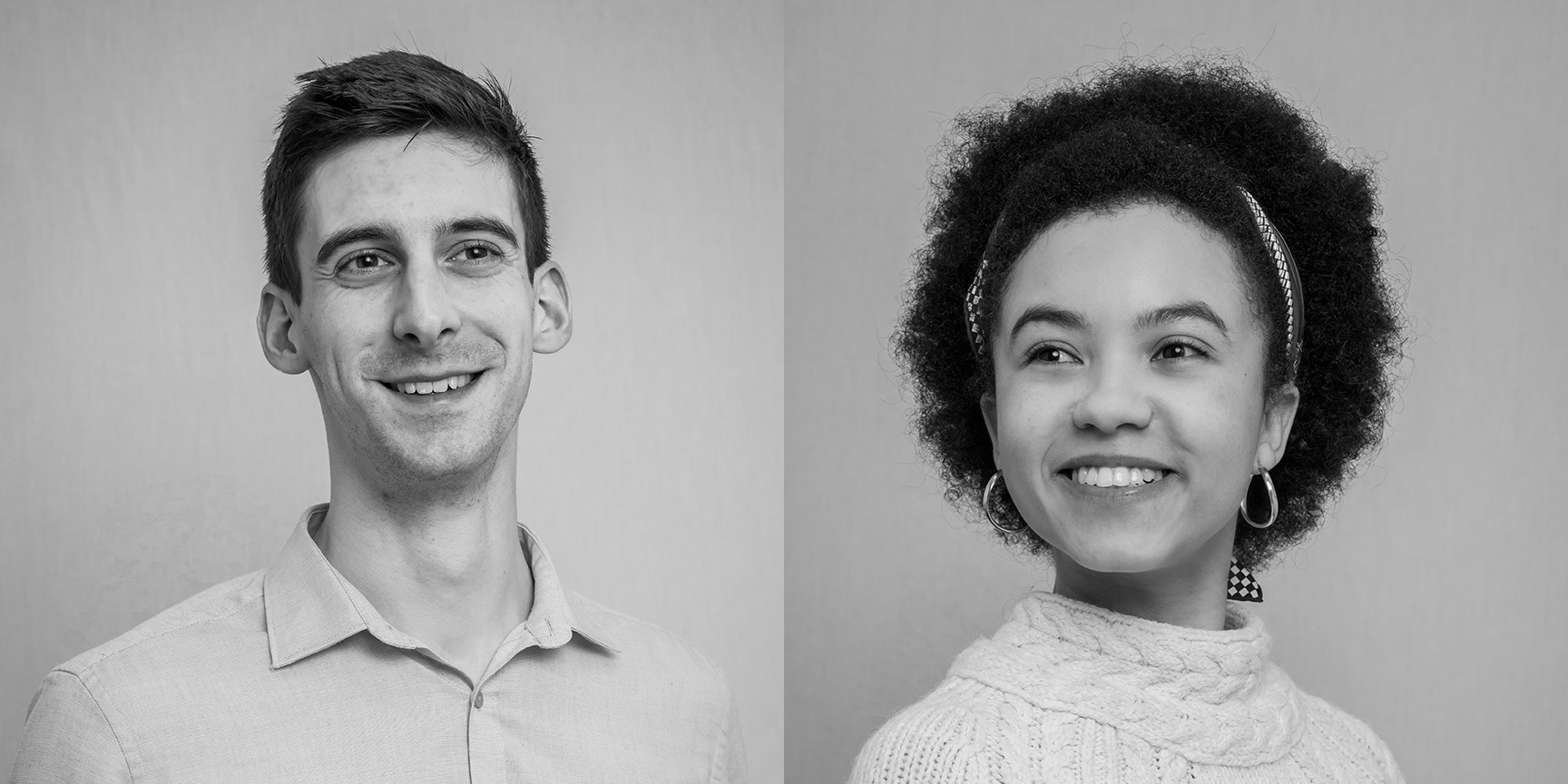 headshots of young staff members